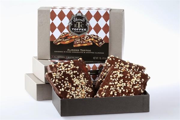 16 oz Dark Chocolate Almond Signature Gift Box