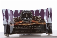 Sea Salt Dark Chocolate Toffee Bar