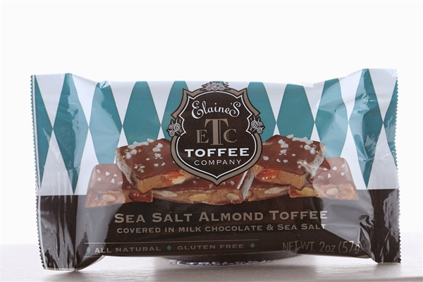 Sea Salt Milk Chocolate Toffee Bar